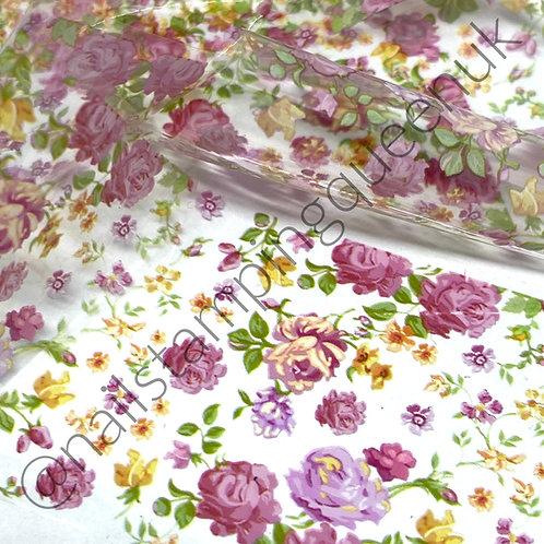 Angel Rose Transfer Foil