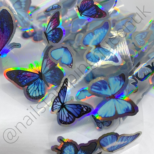 Holo Butterfly Collection Transfer Foil