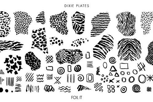 Dixie Mini Foil It Plate
