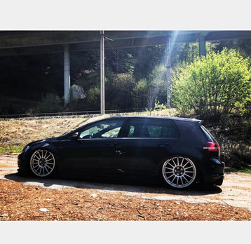 OZ RACING auf VW GOLF GTI