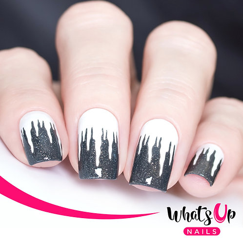 Whats Up Nails - Icicle Stencils