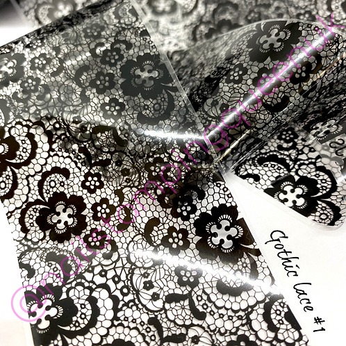 Gothic Lace Transfer Foil