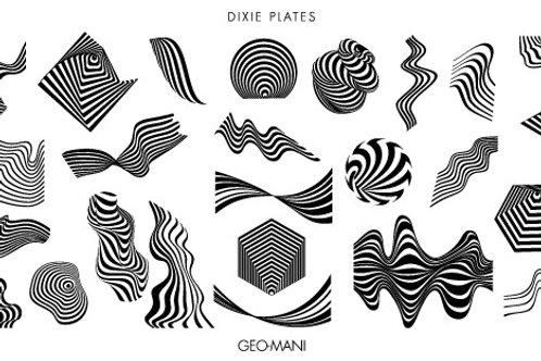 Dixie Mini Geo-Mani Plate
