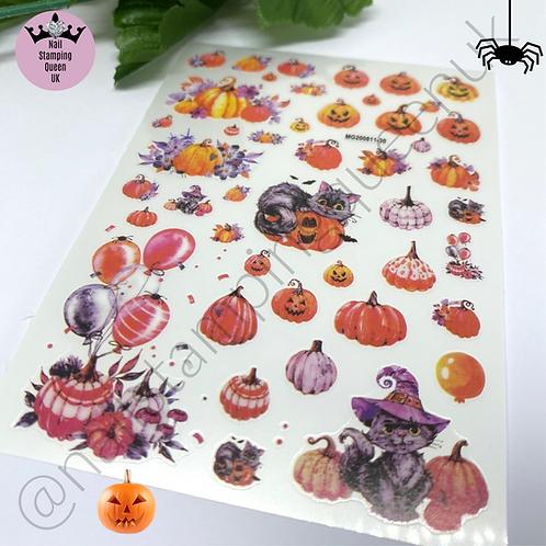 Halloween Stickers - Pumpkin Party!