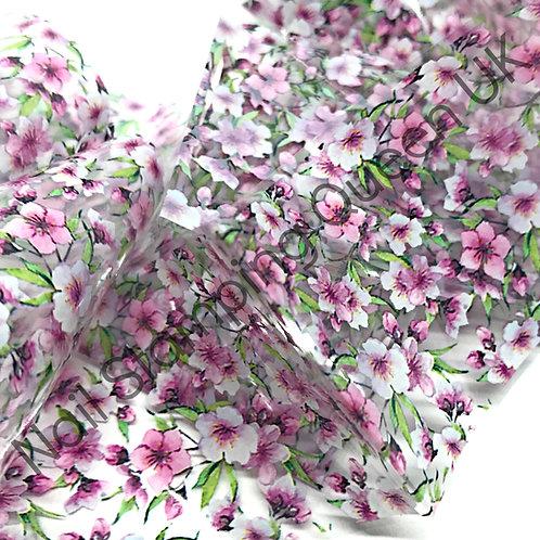 Pink Carnation Transfer Foil