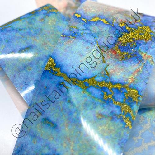 Beachy Marble Transfer Foil