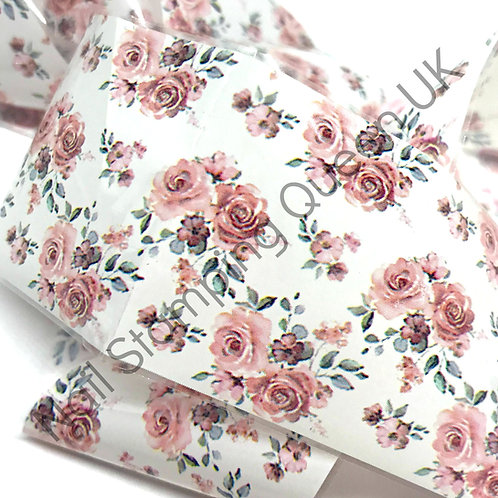 Tea Rose Transfer Foil
