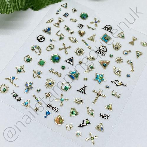 Nail Jewel Stickers - #403