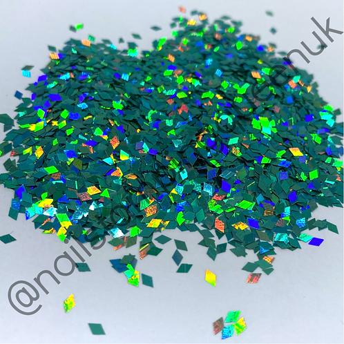 Dazzle Diamonds ~ Turquoise Holo