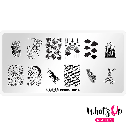 Whats Up Nails Magical Playground Stamping Plate