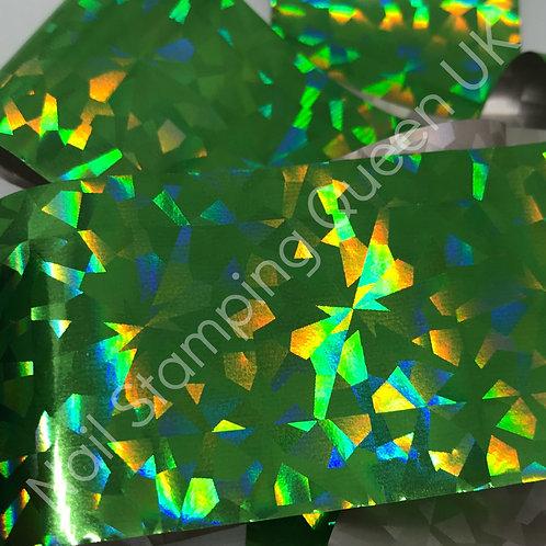 Green Diamond Transfer Foil