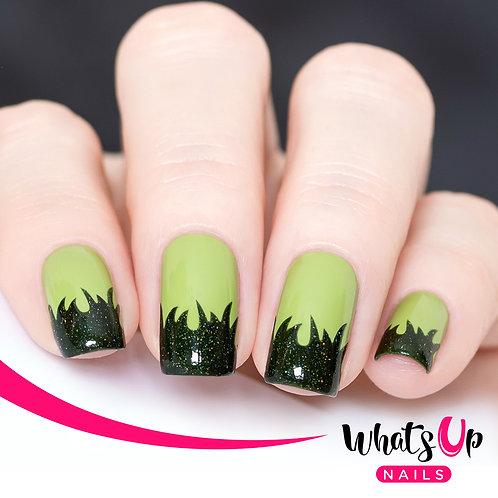 Whats Up Nails - Grass Stencils