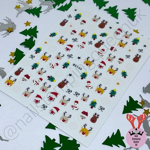 Santa Baby! Stickers