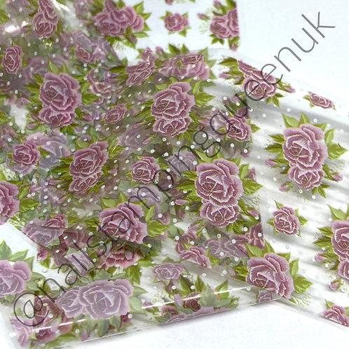 Velvet Rose Transfer Foil