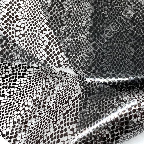 Clear Snake Print Transfer Foil