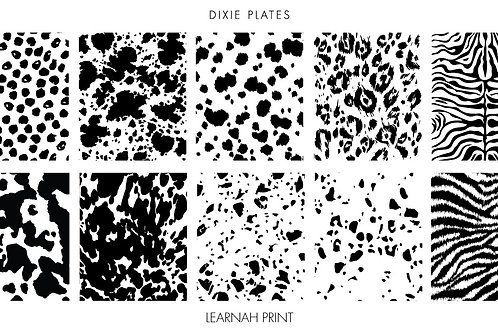 Dixie Mini Learnahs Perfect Prints Plate