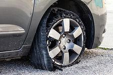 Reifenpanne, Reifenplatzer