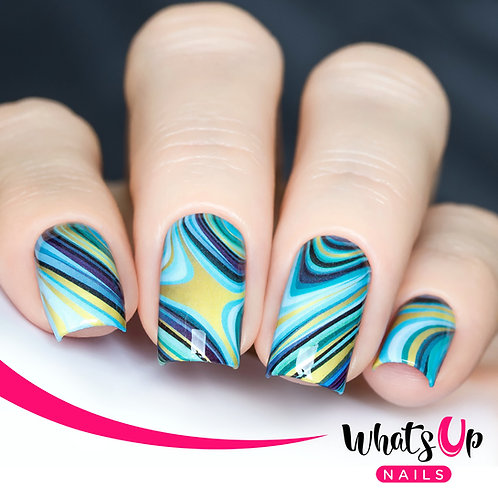 Marbled Like The Sea Water Decals