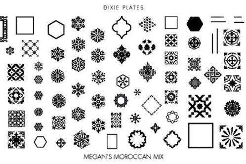 Dixie Mini Megan's Moroccan Mix Plate