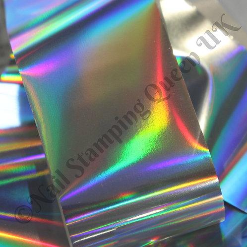 Silver Laser Transfer Foil