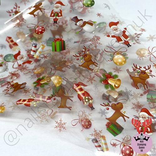 Christmas Transfer Foil - Set 2