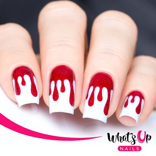 Whats Up Nails - Dripping Stencils 2 Pack