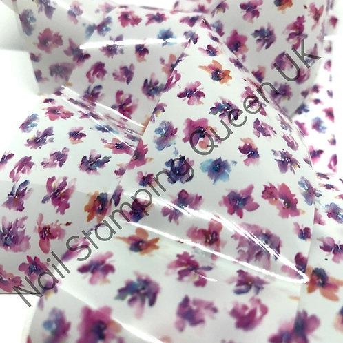 Watercolour Floral Transfer Foil