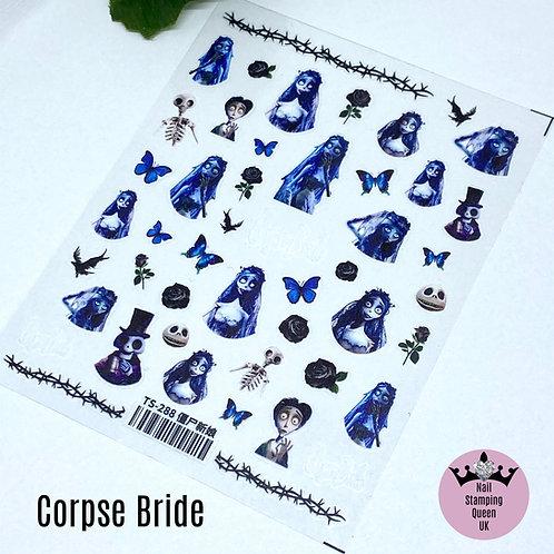 Corpse Bride Stickers