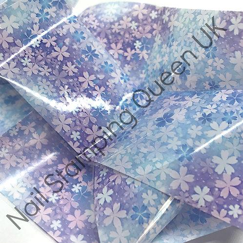 Lilac Blossom Transfer Foil