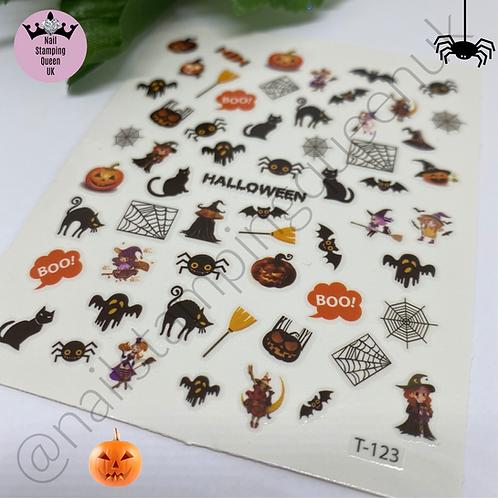 Halloween Stickers - Boo & Bats!