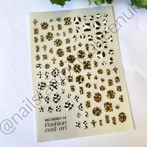 Animal Print Stickers