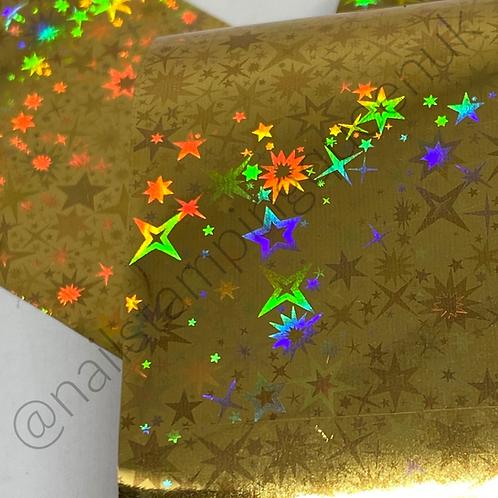 Starry Sky - Gold Transfer Foil