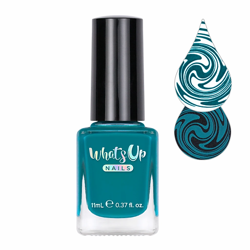 Whats Up Nails - Not a Big Teal Stamping Polish