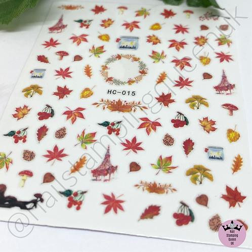 Autumn Leaf Stickers