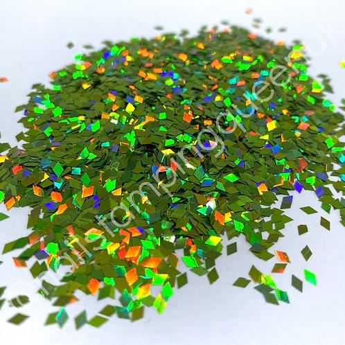 Dazzle Diamonds ~ Pistachio Holo
