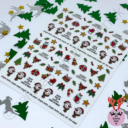 Keep Calm Christmas! Stickers