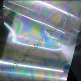 Clear Rainbow Transfer Foil