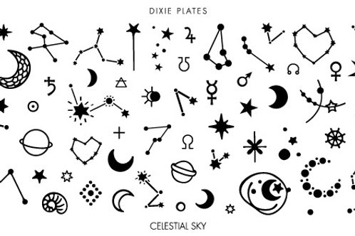 Dixie Mini Celestial Sky Plate