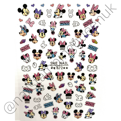 Cartoon Mouse Stickers #072