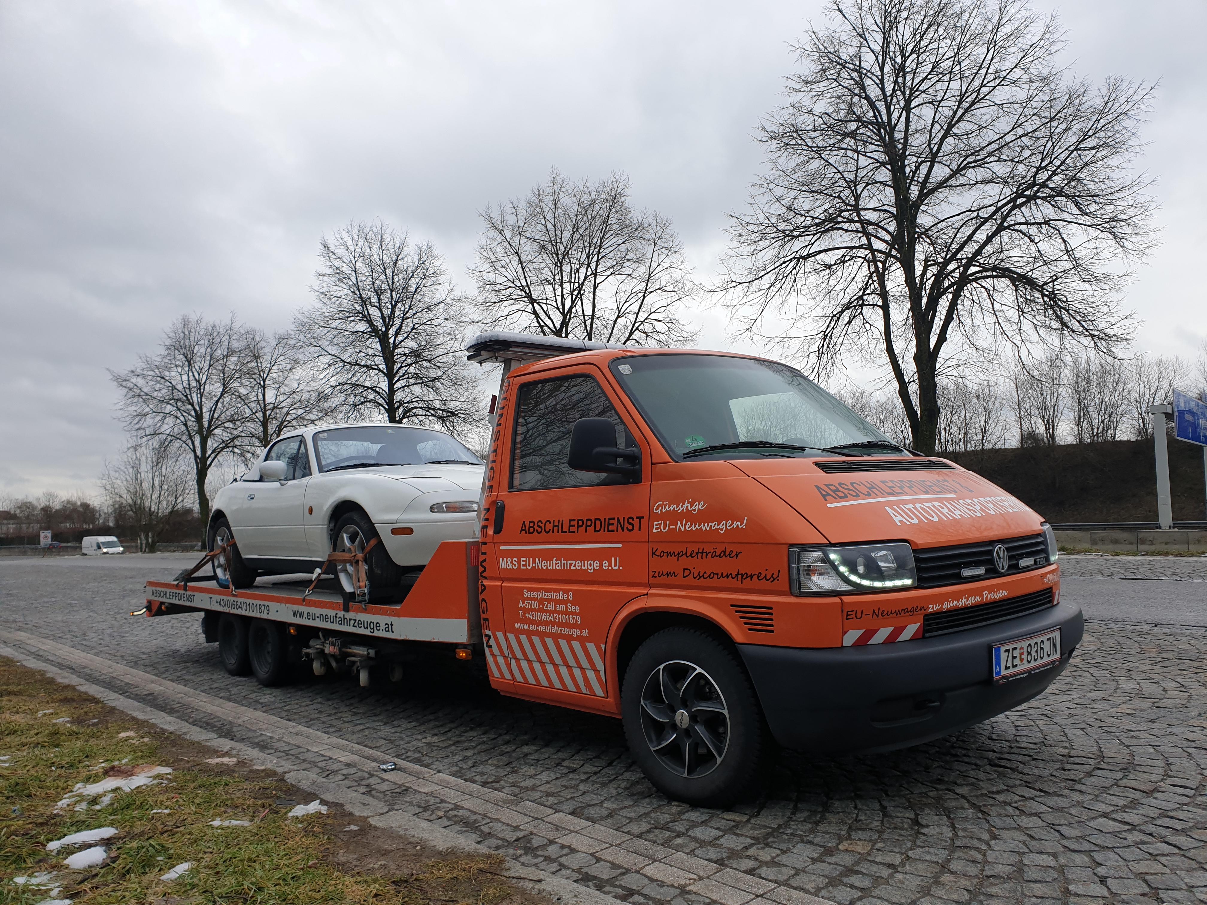 Gebrauchtwagentransport Mazda