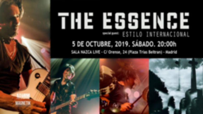 the essence live madrid