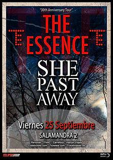 essence live barcelona she past away