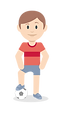 אורנשטיין- ילד משחק כדורגל
