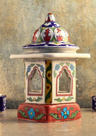 Floral temple