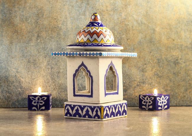 Geometric temple