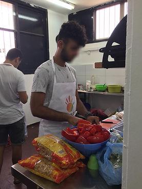 הכנת אוכל באור יהודה