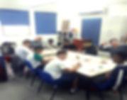 אורנשטיין- תמונה נוספת של פרויקט ההזנה בבית הספר שחר