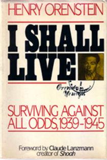 Henry Orenstein book: I shall live
