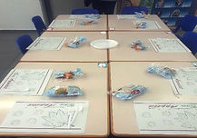 """Orenstein project- Nutrition project at """"shachar"""" school"""