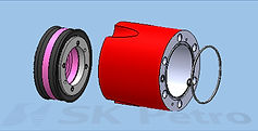 SK Petro, Well Control, Blowout Preventer, BOP Parts, Piston, Cylinder